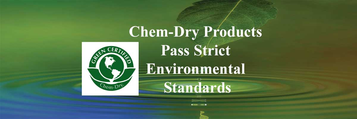 Chem-Dry is committed to providing you with a safe and healthy home using green-certified solutions