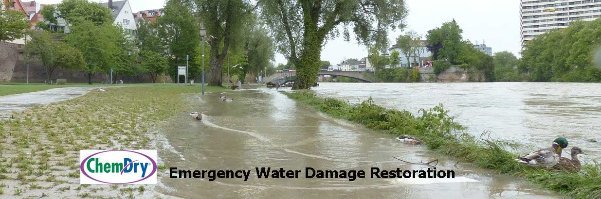 Chem-Dry Water Damage Restoration Services